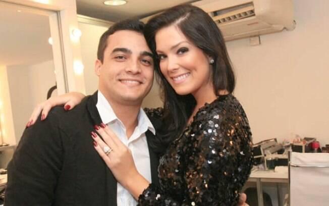 Débora Lyra e o namorado Hermon Lopes internados após acidente grave