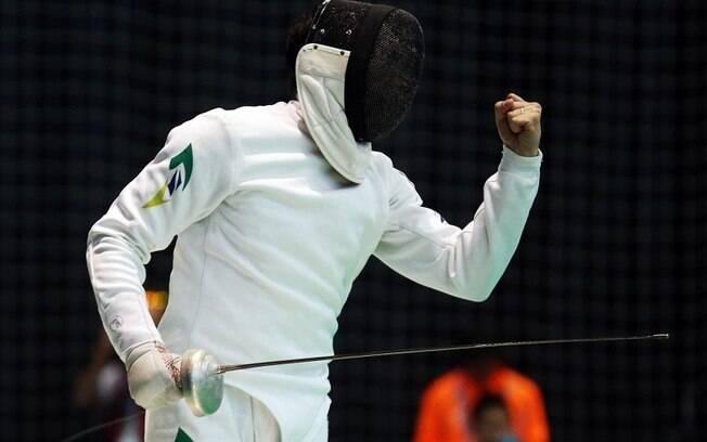 Nicolas Ferreira é o 41º colocado, e melhor brasileiro, no ranking mundial da categoria espada