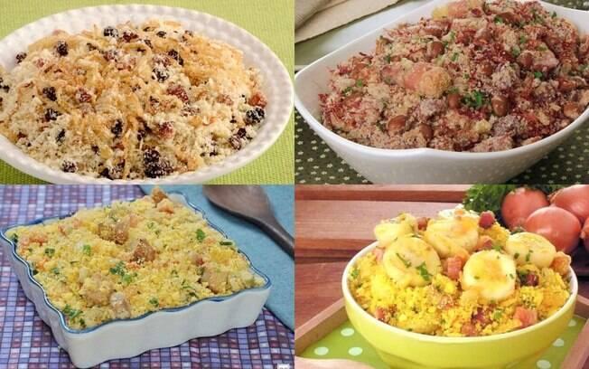 6 receitas de farofa para incrementar o almoço