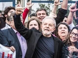 Lula ao deixar prisão