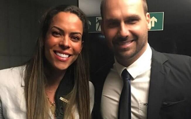 Rebeca Gusmão já declarou apoio à família Bolsonaro