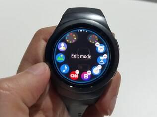 Samsung revela seu relógio inteligente