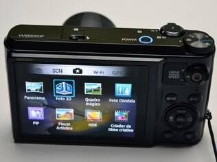 WB850F tem várias funções para dar efeitos diferentes às fotos