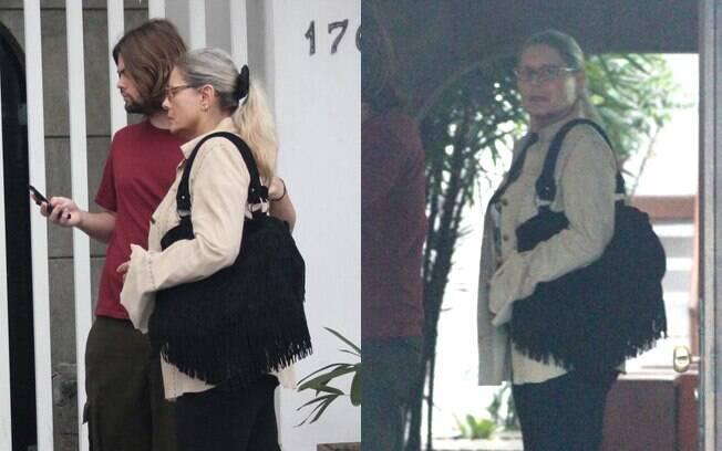 Vera Fischer circula pelo Rio após internação em clínica de reabilitação