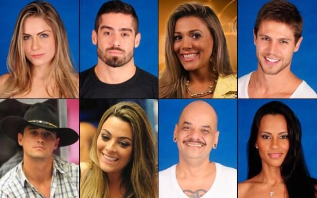 oito finalistas BBB12