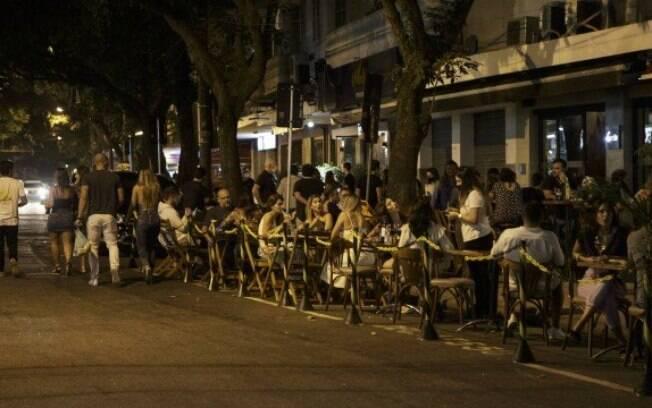 Rua Dias Ferreira, no Leblon, em 11 de setembro de 2020