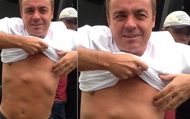 Gugu Liberato inaugura conta no Instagram, rede social de compartilhamento de imagens, e exibe boa forma aos 53 anos