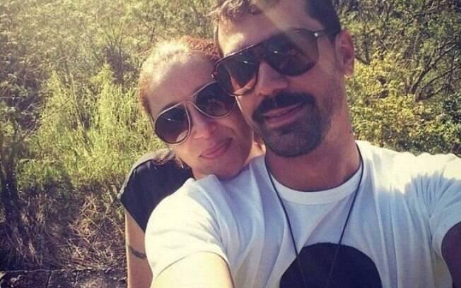 Rodrigo e Alessandra em foto publicada em rede social