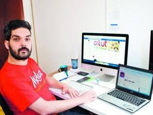Ródney Arôuca administra o grupo 'Orkut - Backup' para guardar pérolas