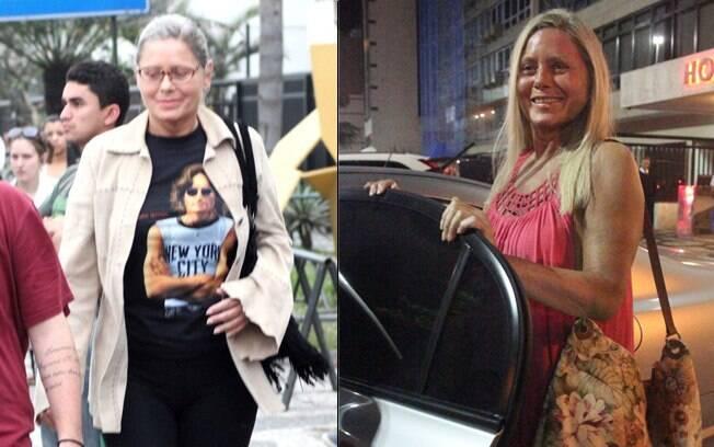 Antes e depois: após reabilitação, Vera Fischer dá uma repaginada no visual