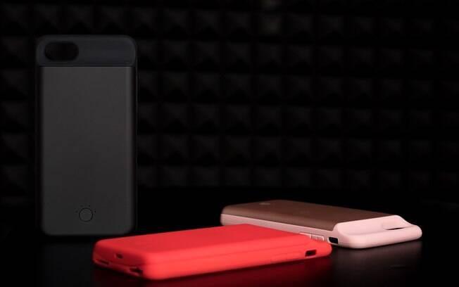 A capa carregadora pode ajudar a proteger seu celular, mas é restrita a apenas alguns modelos e tem capacidade menor
