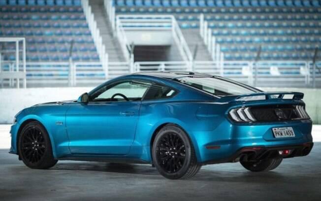 Líder do segmento dos esportivos no Brasil e principal rival do Chevrolet Camaro,  o Ford Mustang ficou ainda mais completo na sua versão 2019