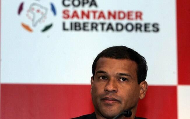 Müller: também integrante do time do  Palmeiras que fez sucesso em 1996, teve passagem  rápida pelo Corinthians em 2001