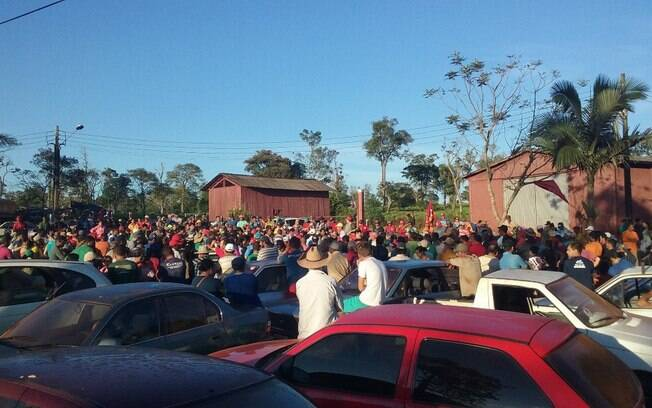 Aproximadamente 4.500 pessoas foram até a fazenda de Licínio Machado Filho e Sérgio Machado