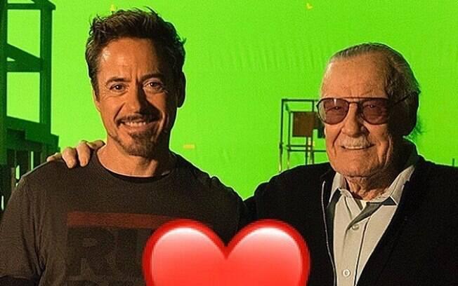 Robert Downey Jr. faz homenagem a Stan Lee
