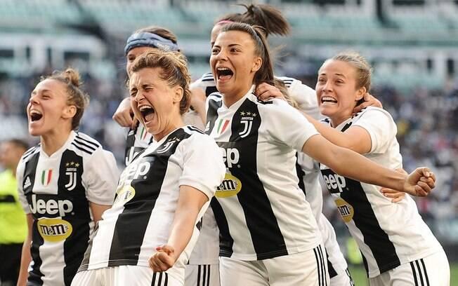 Juventus venceu a Fiorentina pelo Italiano de futebol feminino