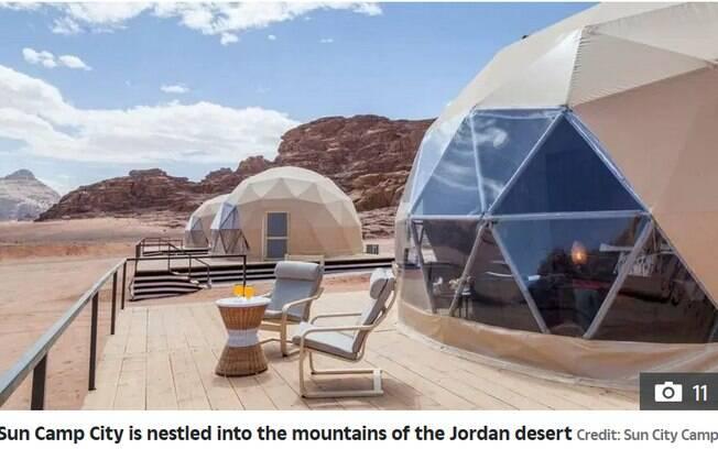 Sun City Camp, na Jordânia