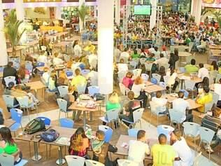 Parada. Como ocorreu em 2010, shoppings vão passar os jogos nas praças de alimentação