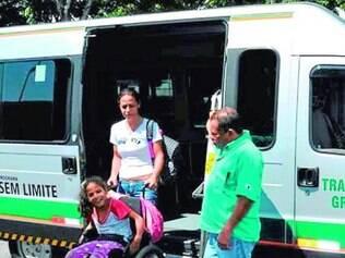 Transporte.    Serviço é apenas para os moradores do município