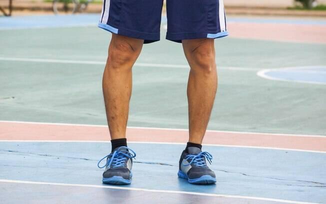 perna arqueada