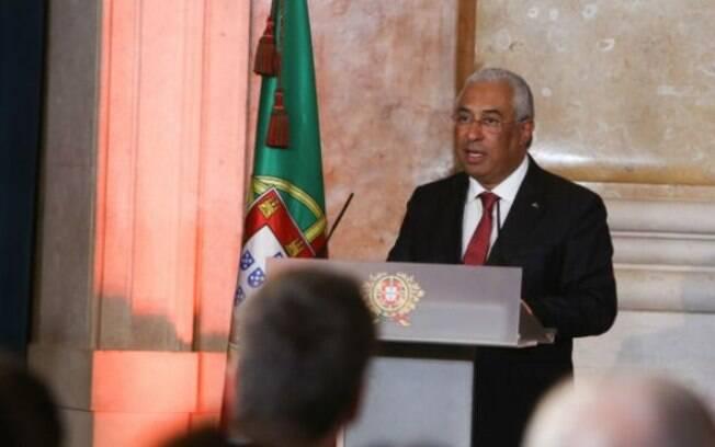 Primeiro-ministro português lidera uma coalizão de esquerda