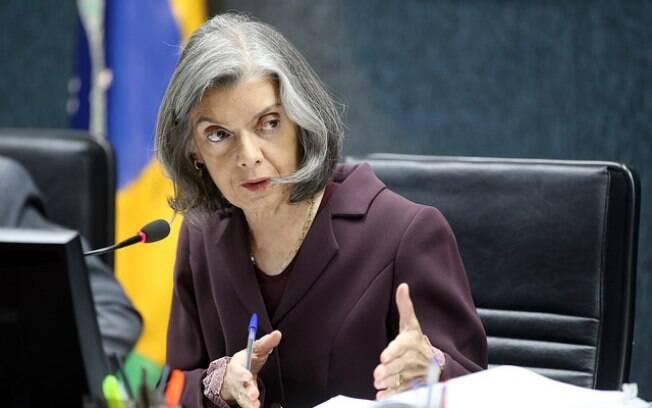 Ministra Cármen Lúcia, presidente do Conselho Nacional de Justiça e do Supremo Tribunal Federal