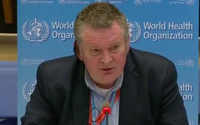 Mike Ryan, diretor executivo da OMS, respondeu pergunta sobre Bolsonaro