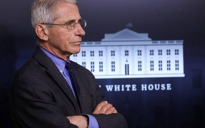 O médico conselheiro da Casa Branca, Anthony Fauci