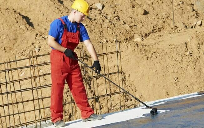 O recurso da impermeabilização deve ser usado para isolar principalmente áreas