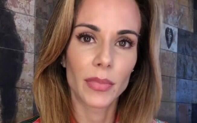 Ana Furtado faz vídeo explicando estado de saúde após descoberta de câncer de mama