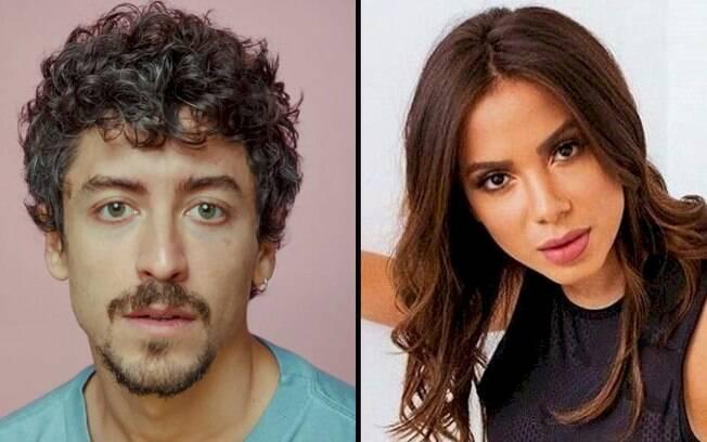 """Anitta diz a Jesuita Barbosa """"chega mais"""" depois de ele dizer que """"está hétero"""""""