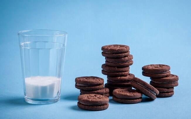 Treze biscoitos recheados (130gramas) têm 32 gramas só de açúcar. Foto: Edu Cesar