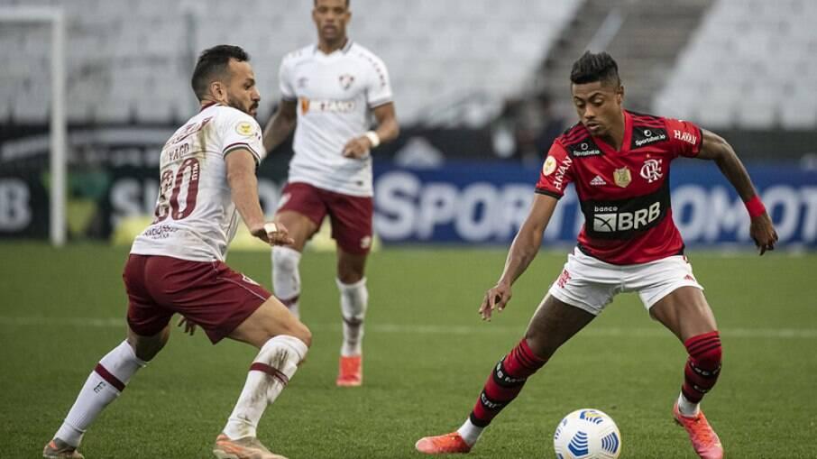 Flamengo perdeu para o Fluminense no Brasileirão