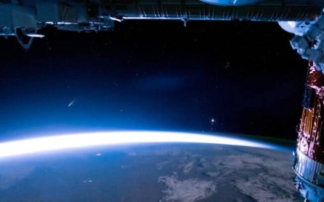 No último dia 15 de novembro, nada menos do que 150 OVNIs foram registrados pelas câmeras da estação espacial