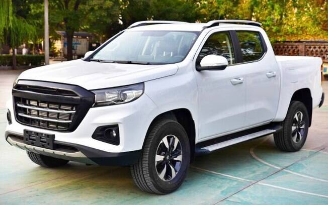 Picape da Changan servirá de base para o novo modelo da Peugeot, que chegará às lojas em 2021