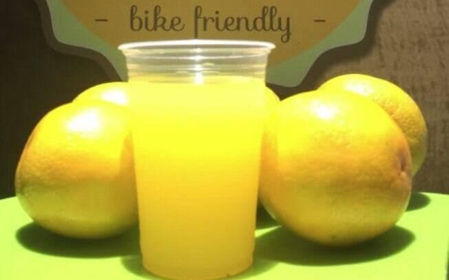 Isotônico natural de laranja
