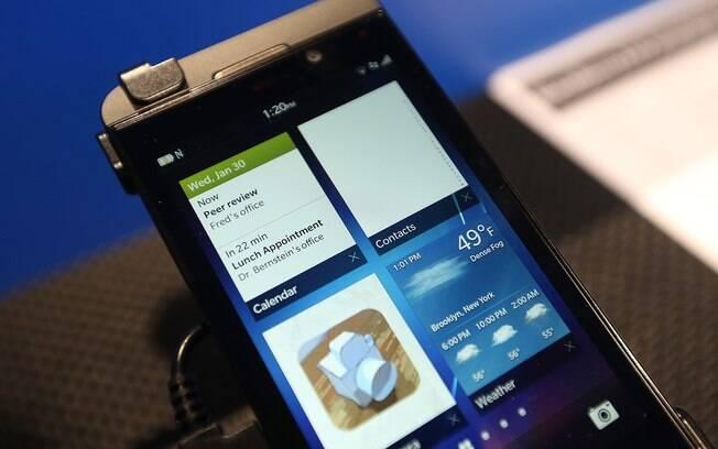 Z10 é smartphone mais avançado da nova linha da BlackBerry