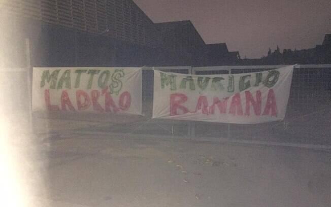 Protestos contra Alexandre Mattos e Maurício Galiotte