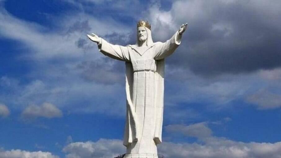 Cristo Rei está localizado na cidade de Swiebodzin, Polônia