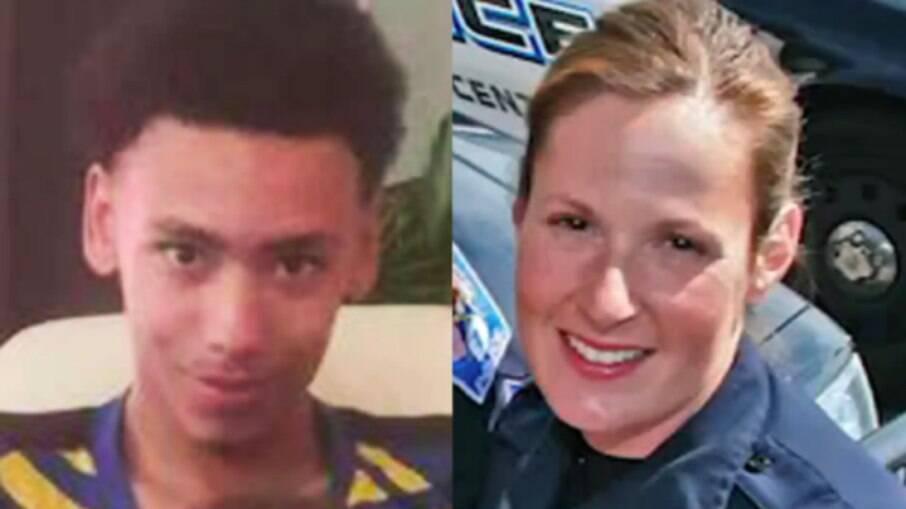 O jovem foi morto a tiros por uma policial branca nos EUA