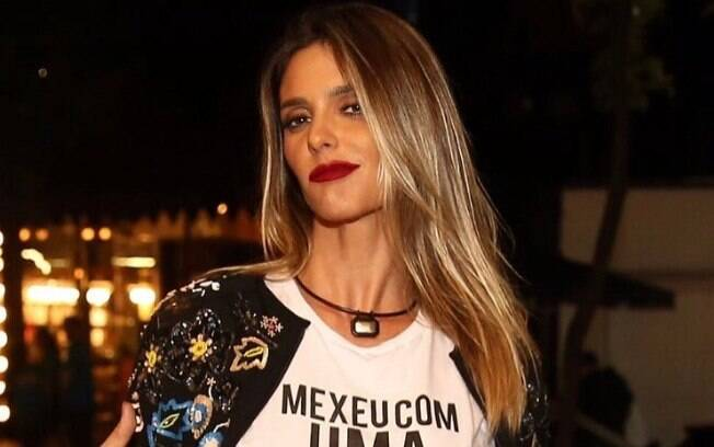 Fernanda Lima rebate crítica de Silvio Santos!