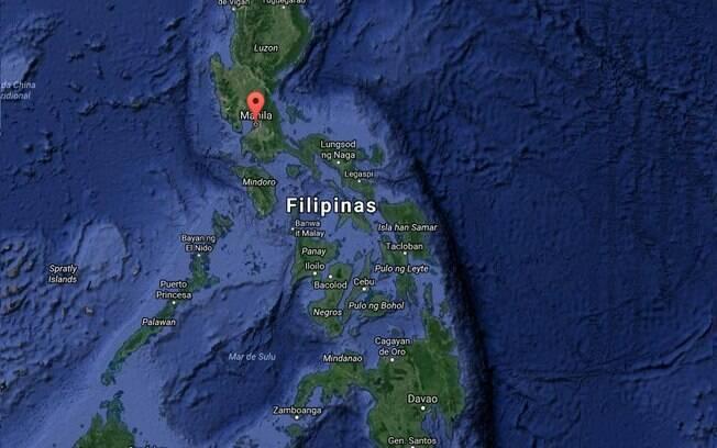 Yasmin Fernandes Silva foi presa em Manila, na capital das Filipinas