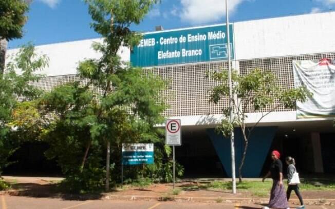 Centro de Ensino Médio Elefante Branco, em Brasília