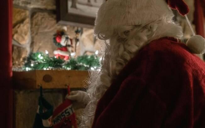 Papai Noel ganhará recursos tecnológicos este ano
