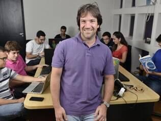 Olhar. Para João Guilherme Gallo, da AppProva, mais importante que apoio financeiro, é o olhar menos apaixonado que o investidor leva