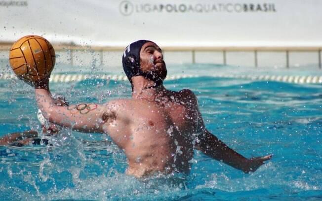 Grummy é o grande destaque da seleção brasileira de polo aquático
