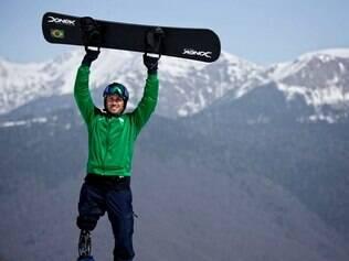 André Cintra foi o segundo brasileiro a fazer sua estreia nos Jogos Paralímpicos de Sochi