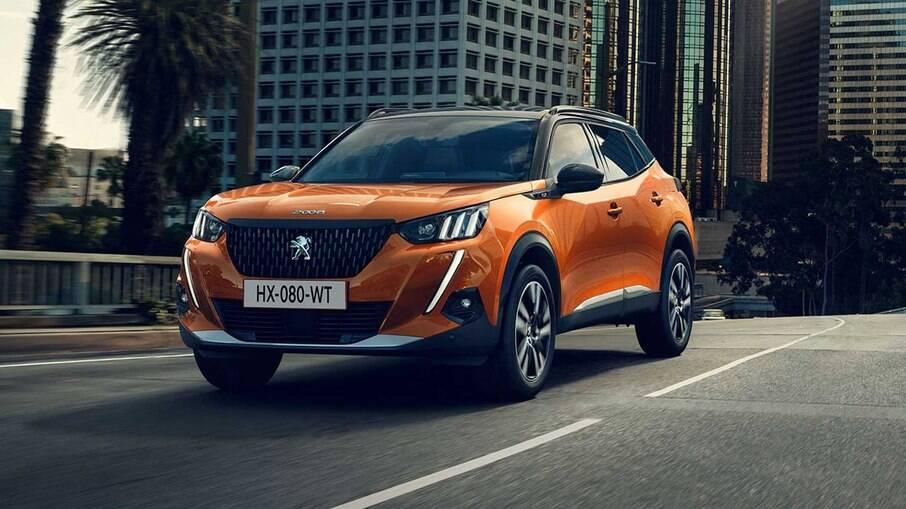 Peugeot 2008:  nova geração do SUV ainda não data para chegar ao Brasil. É derivado do 208 fabricado na Argentina