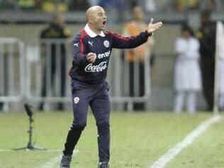 Sampaoli tem feito um bom trabalho no comando da seleção chilena