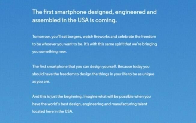 Anúncio do Moto X